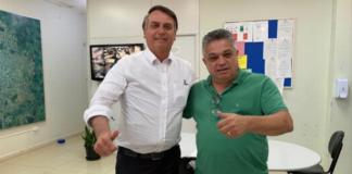 Bolsonaro com João Rodrigues prefeito de Chapecó