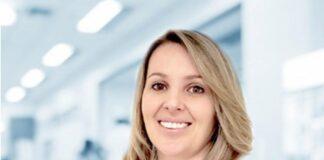 Mariane Rigo Laverdi, doutora em Ciências da Saúde e professora do curso de Medicina da Universidade Positivo.