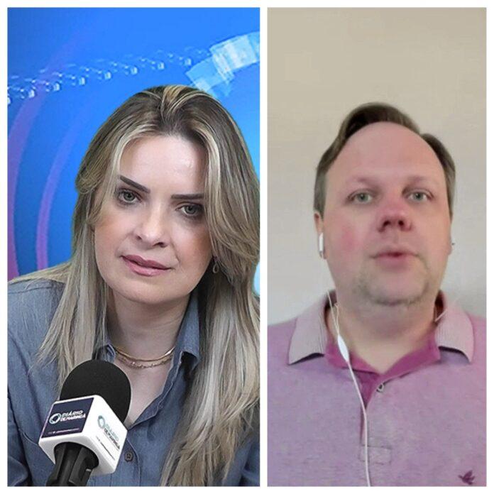 Ester Corrêa e João Luiz Coelho Ribas,