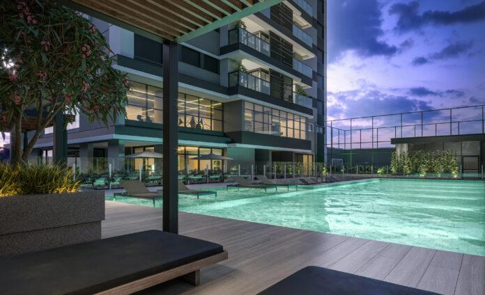 O projeto é assinado pela Spagnuolo Arquitetura e contempla dois pavimentos de lazer.