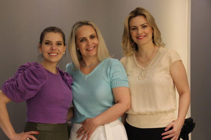 Dr. Luciana, Sara e Ester Corrêa