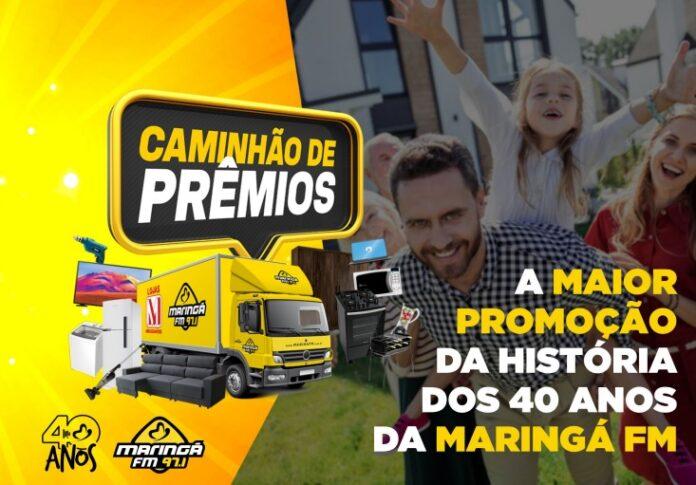 Maringá FM lança promoção